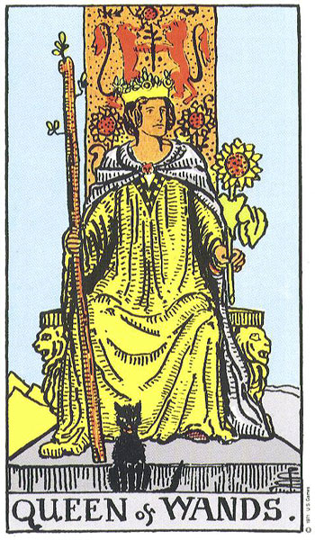 queen of wands rider